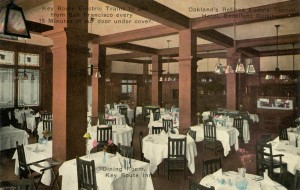 Key Route Inn, Dining Room, Oakland, California